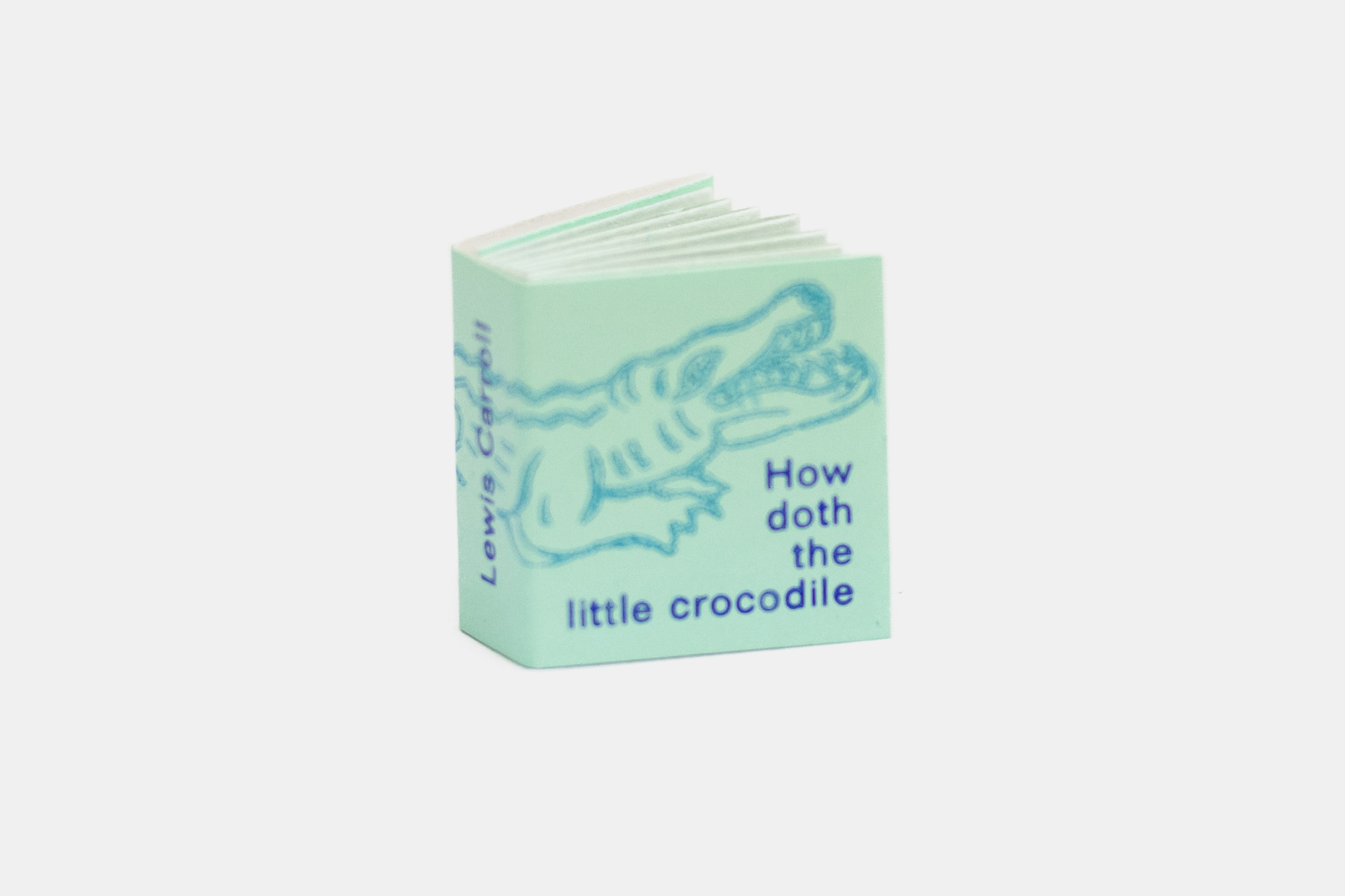 How doth the little crocodile Minileporello Fliegenkopf